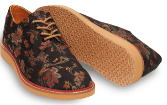 5. We all should walk more and what better way than to share the experience with another in need around the world. Tom's will help you do that  http://www.toms.com/men/black-floral-paisley-mens-brogues