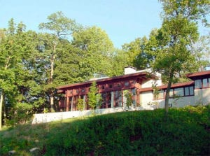 Cincinnati LEED Platinum office - Frank Lloyd Wright Boulter House