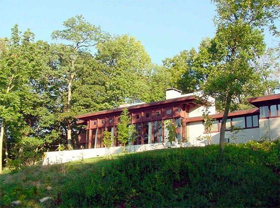 Cincinnati LEED Platinum office - Frank Lloyd Wright Boulter House