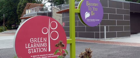 Green City of the West - Cincinnati Green Building Signage Project of the Civic Garden Center