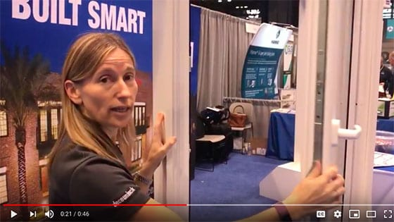 Deceuninck's Helen Peyton Describes Their New Revolution WindowDoor at Greenbuild 2018