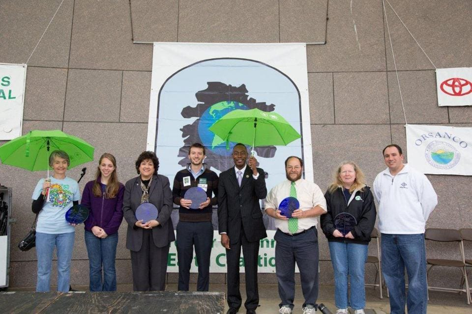 Earthday Cincinnati Award winners