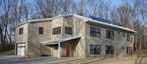 Kinsman Residence Tour, Passive Solar, Thermal Sola