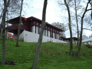 Frank Lloyd Wright designed home built in 1956.