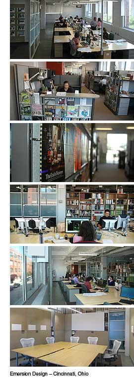 Emersion Design headquarters - Cincinnati, Ohio