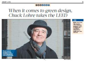 Chuck Lohre Green Building Consultant